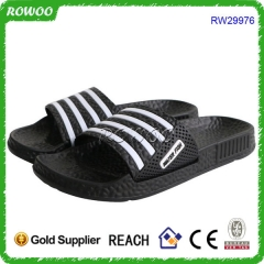 Latest Stone Texture Design Black EVA Slide Slipper Men Sandals